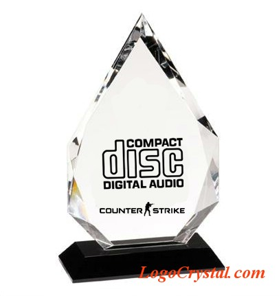 flame diamond crystal awards