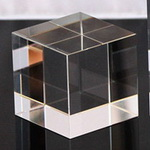 K9 Optical Crystal Cube 70x70x70mm