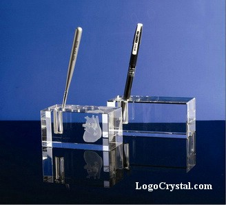 K9 Optic Crystal Pen Holders