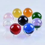 k9 optical crystal balls a variety of colors and sizes