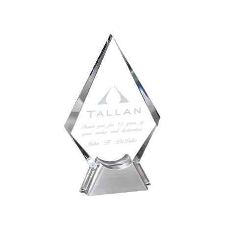 Premios de cristal personalizados